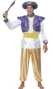 Genie Halloween Costume Pantomime Genie Costume Pams G10046 Karnival Costumes