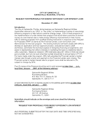sample loan proposals