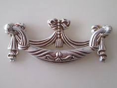 Shabby Chic Drawer Handles by Shabby Chic Dresser Pull Drawer Pulls Door Handles Antique Silver