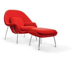 womb lounge chair u0026 ottoman eero saarinen chair replica u0026 ottoman