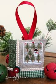 seven pines freebie by house needleworks cross stitch