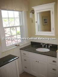 Refacing Bathroom Cabinet Doors Reface Cabinets Before U0026 After Photos Affordable Refacing Cabinets