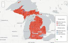 Michigan Zip Code Map by Interactive Map What Political Bubble Do You Live In Bridge