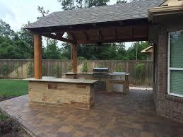 Patio Builders Houston Tx Pergola Builder Houston Arbor Construction Outdoor Kitchens