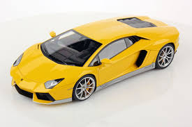 Yellow Lamborghini Aventador - lamborghini aventador lp 700 4 miura homage 1 18 mr collection