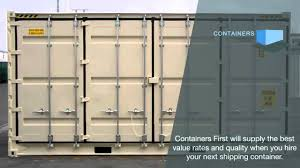 All About Shipping Containers For Sale Youtube