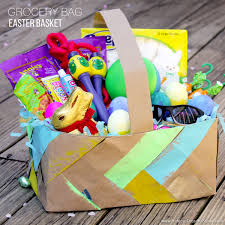 Diy Easter Basket Grocery Bag Easter Basket For Boys Hideous Dreadful Stinky