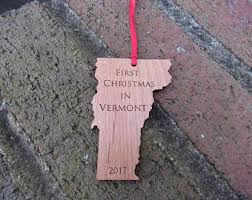 vermont ornament etsy
