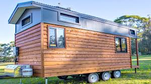 tiny home eco friendly sustainable solar paneled rv trailer