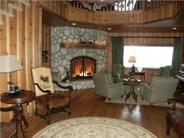 CountryRustic Country Dark Living  Family Room Photos - Country family rooms