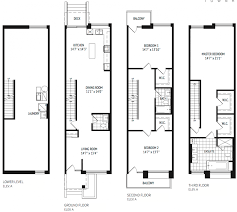 Luxury Townhome Floor Plans Stafford Introducing Residential Density To Downsview Park Urban