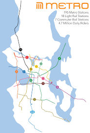 Light Rail Map Seattle Transit Report Card Mexico City