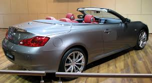 2011 infiniti g convertible information and photos zombiedrive