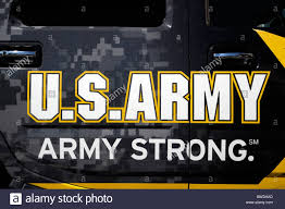 advertisement advertising ad for us military army strong on side