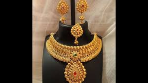 gold sets design traditional antique jewellery collections designer fashion