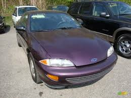 Deep Purple Color 1997 Deep Purple Metallic Chevrolet Cavalier Coupe 28936671