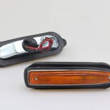 glasses with lights on the side new front side marker amber lights ls pair compatible item for