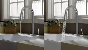jado kitchen faucet 3rings jado s joystick controlled cayenne kitchen faucet