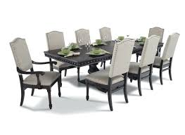 9 piece dining table set modern 9 piece dining set dining room enchanting silver 9 piece