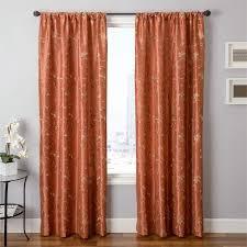 softline home fashions pioneer rod pocket window single curtain panel