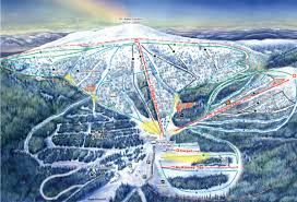 Mt Snow Trail Map Mt Baldy Ski Area Trail Map Skicentral Com