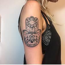 55 spiritual hamsa tattoo meaning and designs u2013 symbol of