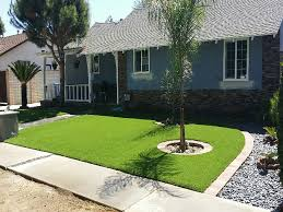 Lawn Free Backyard Fake Lawn Martinez California Paver Patio Front Yard Design