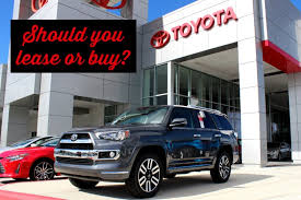 toyota cars for lease leasing a car has big perks toyota of orlando tips