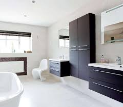 Black Bathroom Mirror Cabinet Black Bathroom Wall Cabinets With Mirror Modern Black Bathroom