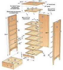 shaker high chest plans furniture plans and projects