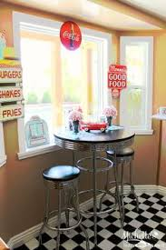 Diner Style Kitchen Table by Awesome 1950 U0027s Diner Style Bar Stools So Retro For The Home