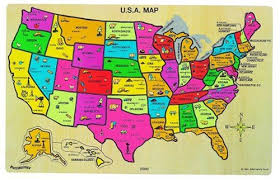 us map puzzle wood masterpieces explorer usa map 60 puzzle usa map
