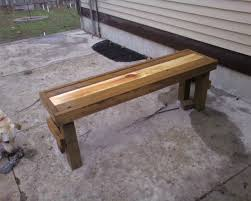 Simple Park Bench Plans Free by 2x4 Park Bench Plans Bench Decoration