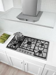 Gas Countertop Range Kitchen Cooktops Natural Gas Cooktops Offer High Efficiency Easy Cleaning And