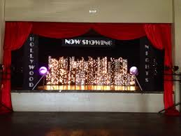 Hollywood Backdrop Hollywood Theme Prom Stage Backdrop Reitz High Prom