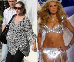 style delights quick celebrity pregnancy weight loss distorting