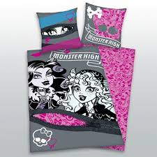 Monster High Bedroom Decorations Monster High Duvet Cover Sweetgalas