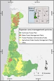 Oregon Beaches Map by Legal Ecotones A Comparative Analysis Of Riparian Policy