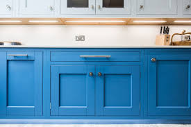 light blue kitchen cabinets uk cool blue sheffield sustainable kitchens