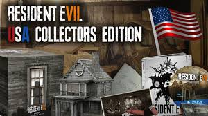 resident evil 7 collectors edition usa revealed re7 aunt rhody