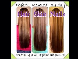 it works hair skin and nails pills really does make your hair