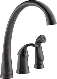 delta kitchen faucet warranty faucet 4380 rb dst in venetian bronze by delta