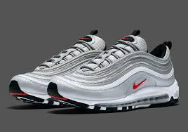 nike air silver nike air max 97 silver bullet us release date sneakernews com