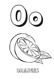 alphabet o coloring pages snow letter o alphabet coloring pages