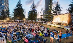 Sunset Cinema Botanic Gardens Summer Outdoor Cinemas