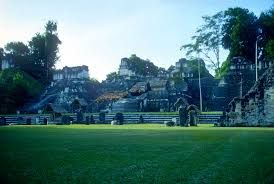 Aztec Mayan Inca Map Tikal Guatemala