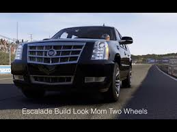 build a cadillac escalade forza motorsports 6 escalade build look two wheels