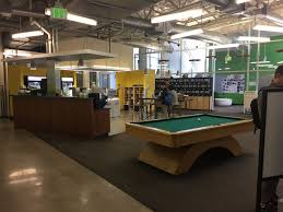 micro kitchen and pool table google office photo glassdoor