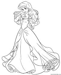 ariel mermaid coloring pages coloring print 7965