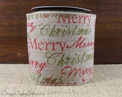 christmas holiday script ribbon